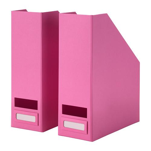 Haul d'aout pour cet automne range revues rose Ikea